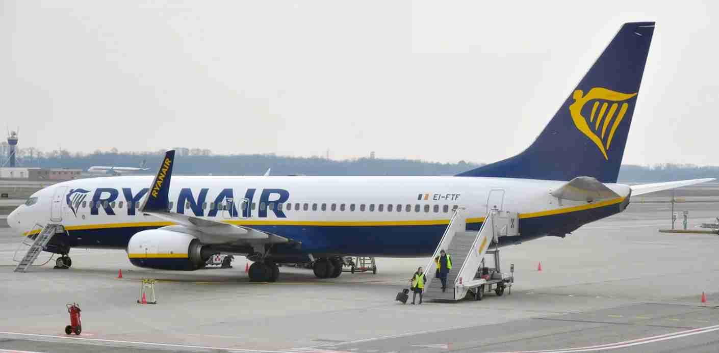 A Ryanair 737-800 at Milan Malpensa airport, February 28, 2018 (Photo by Alberto Riva/TPG)