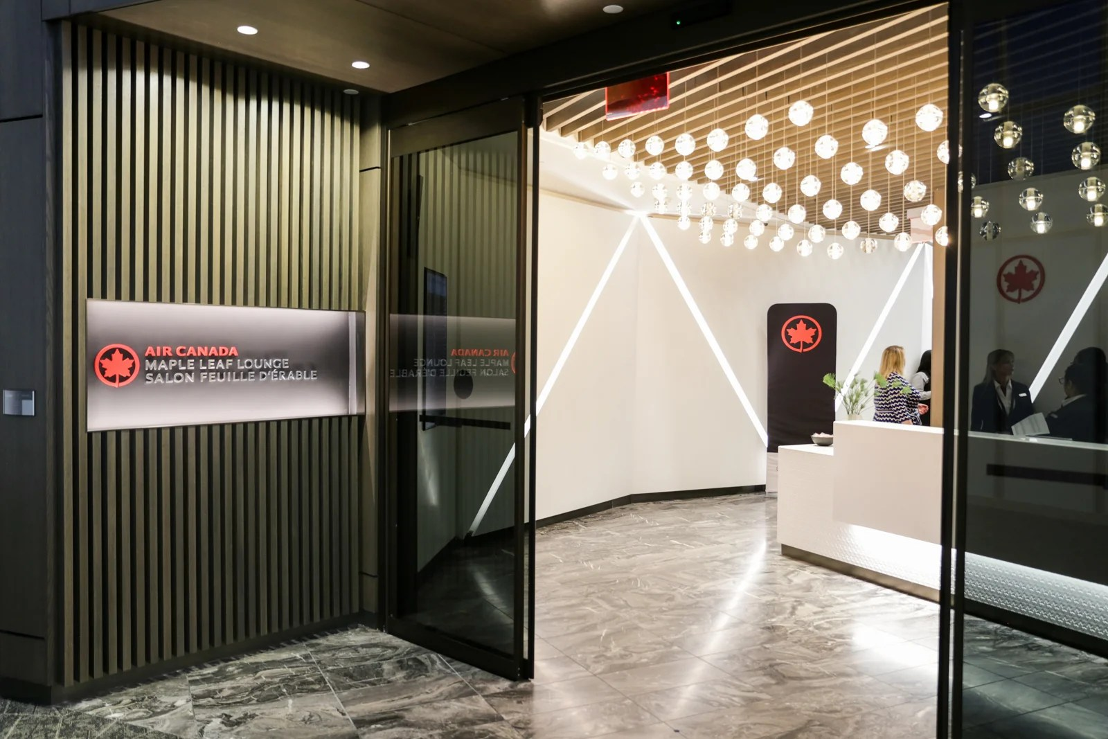 First Look At Air Canada S New Lounge In Lga S Terminal B