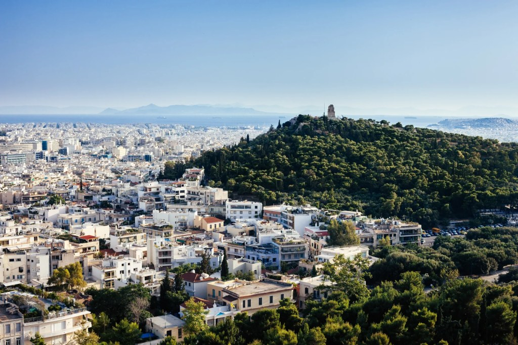 A view of Athens, Greece. (Photo by Oleksii Khodakivskiy via Unsplash)