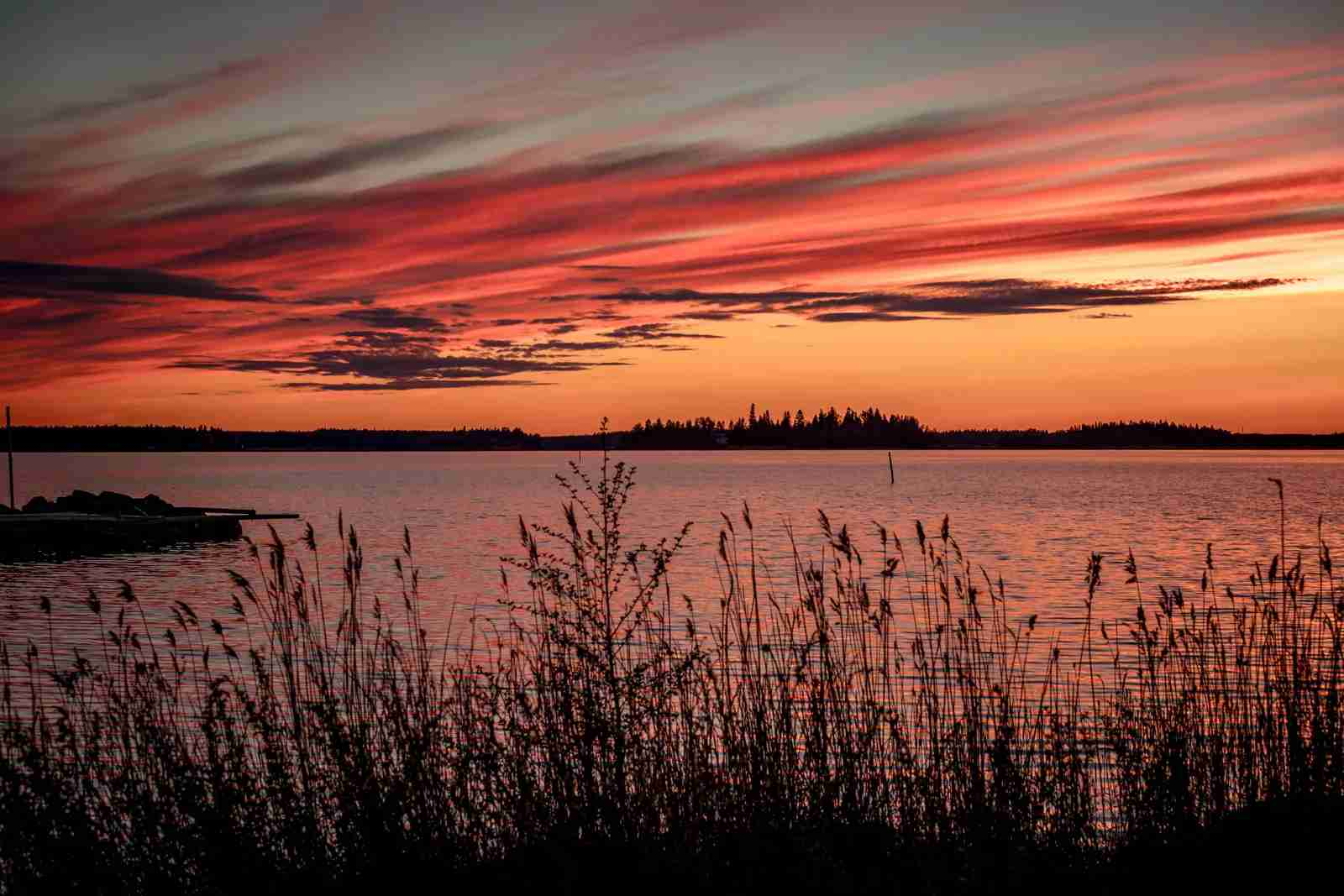 The Bay of Bothnia, Finland. (Photo via Shutterstock)