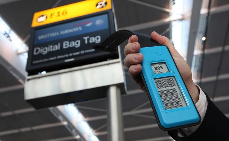 British Airways Launching Electronic Baggage Tags in January