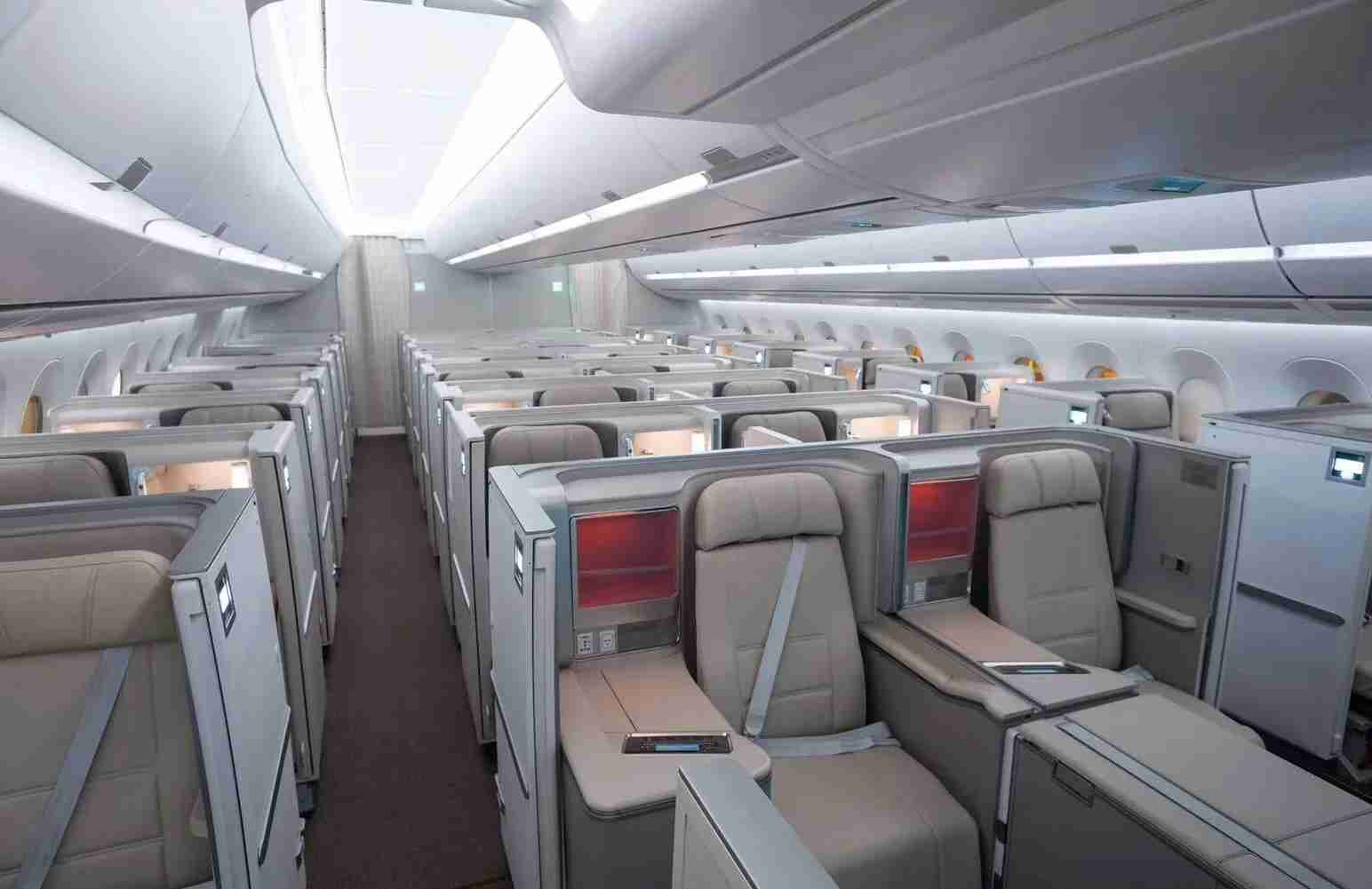 China Eastern Business Class Cabin