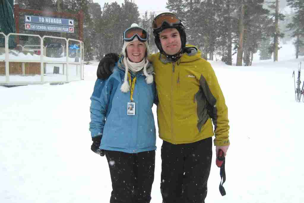 Family Friendly Tahoe Ski Resorts - Heavenly Snowy Day