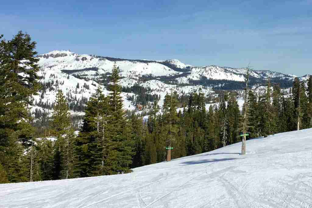 Family Friendly Tahoe Ski Resorts - Sugar Bowl Slopes