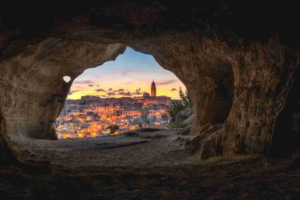 Matera, Italy. (Photo by Luca Micheli via Unsplash)