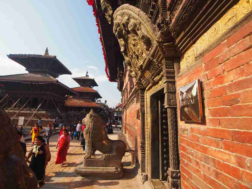 Kathmandu is an ancient city with lots of culture. Photo: Elen Turner