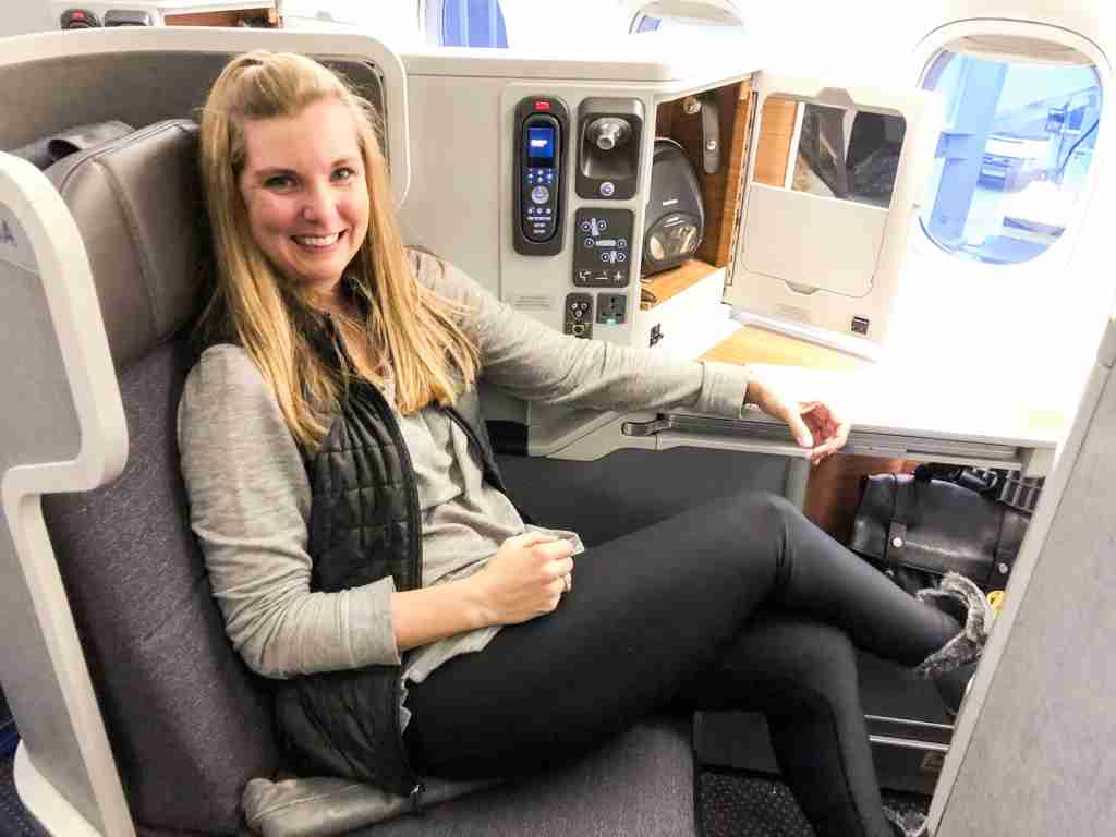 Flying home from Europe using American Airlines miles