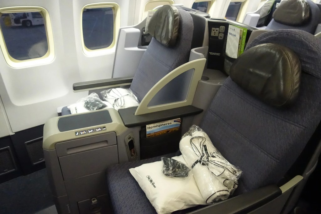 Review United S 757 200 In Business Sfo To Ewr