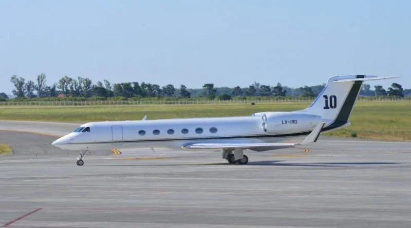 Take a Look Inside Soccer Star Lionel Messi's $15 Million Private Jet