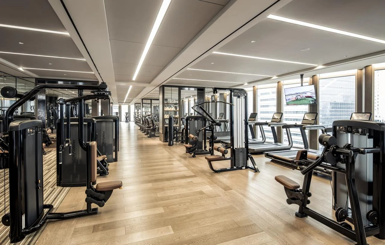 11 of the Best Hotel Gyms in the World