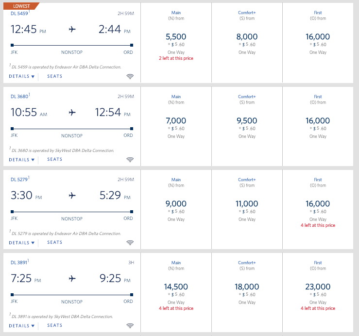 Delta pricing fluctuares frequently.