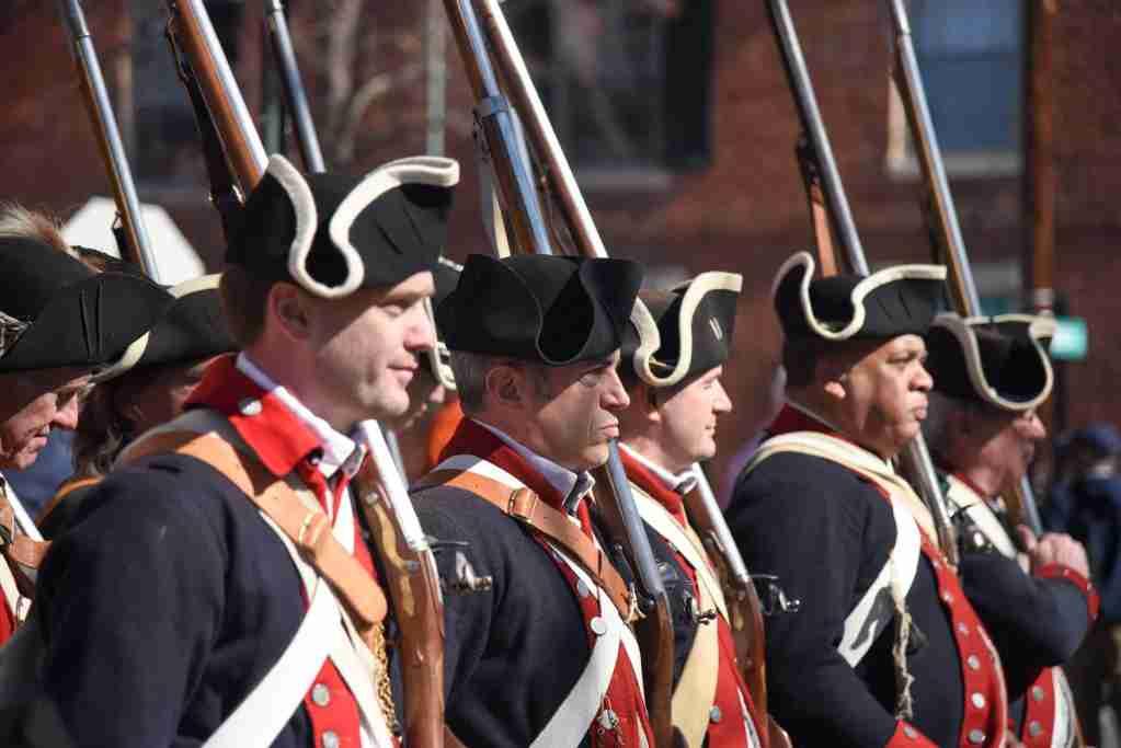 George Washington Birthday Parade in Old Alexandria, Va., image courtesy of Visit Alexandria, Va.