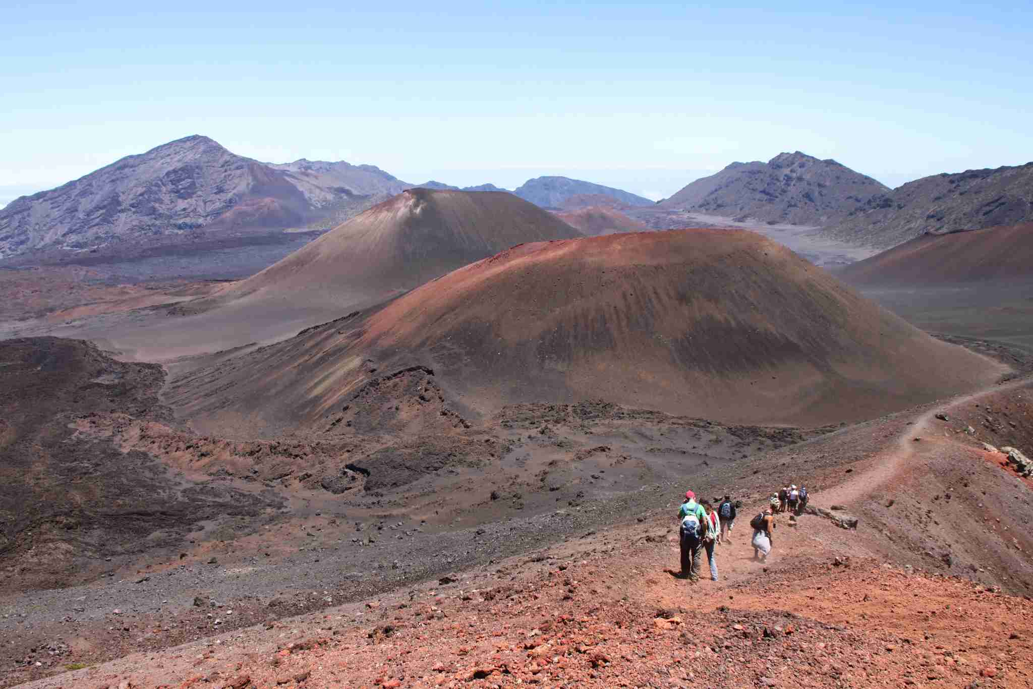 Dont miss Saturdays free tour through the crater of Haleakala. Image courtesy of the author.
