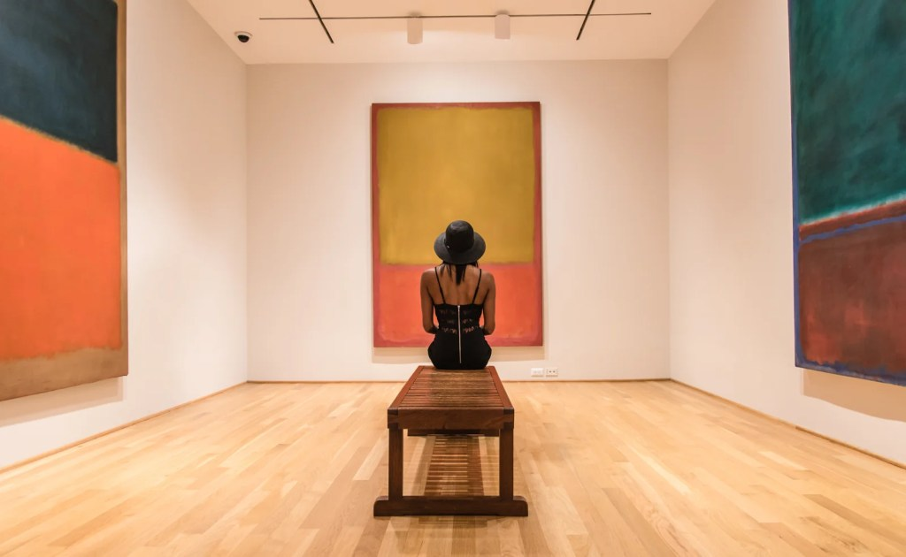 The Rothko Room at the Phillips Collection. (Photo by Andre Chung for The Washington Post via Getty Images)