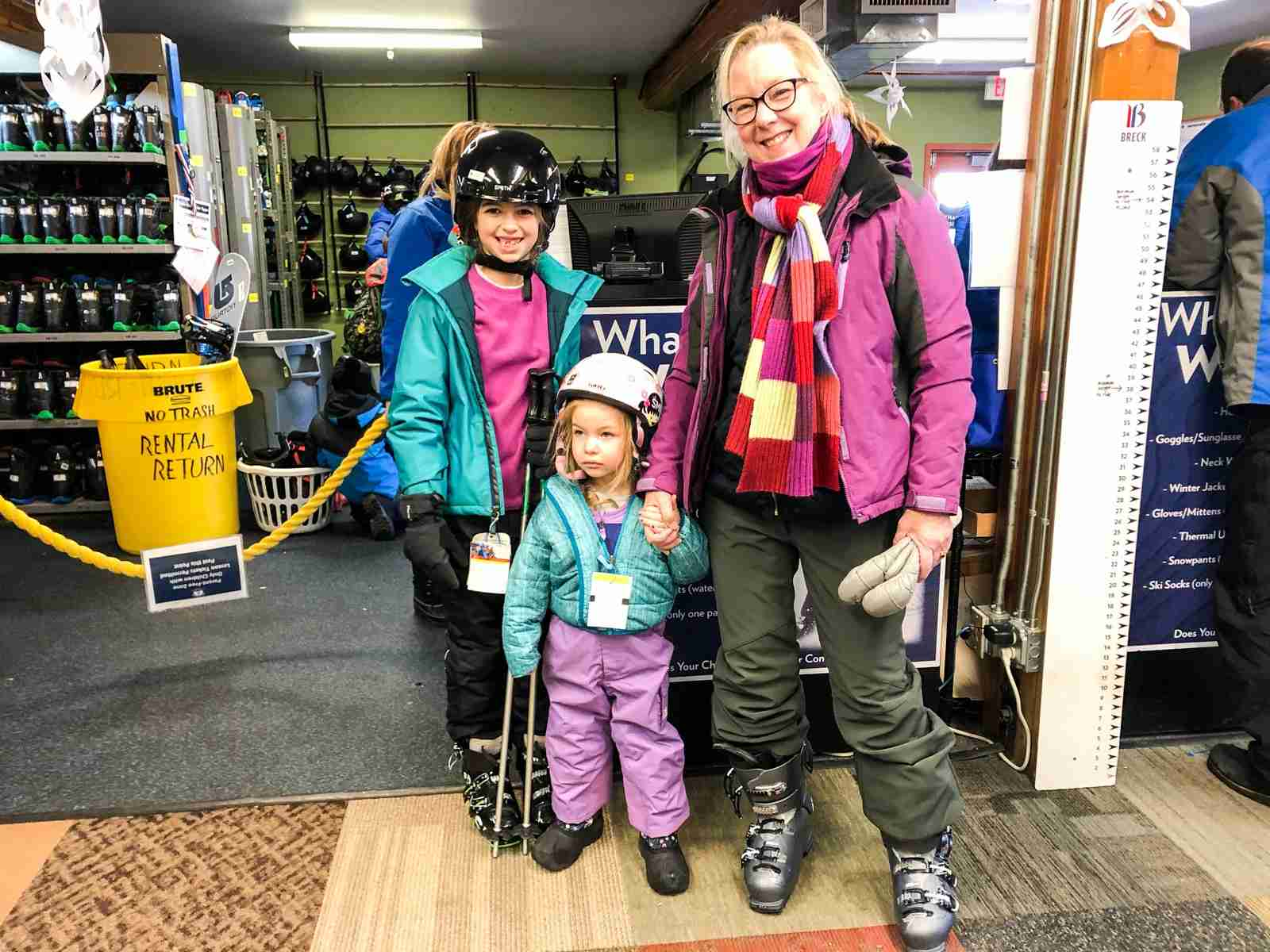 More ski school kids means more points