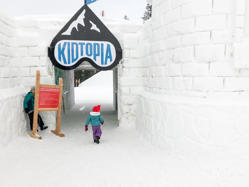 Keystone Kidtopia Ice Fort