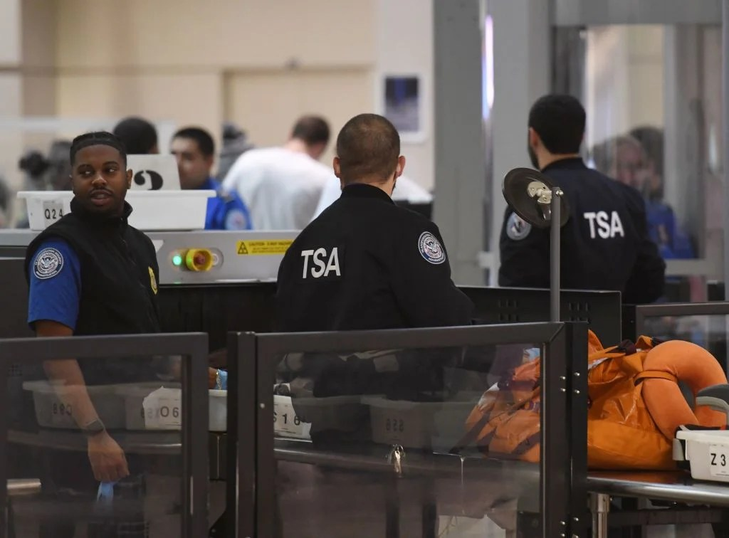 At JFK Airport, TSA Workers Fear an Unknown Future