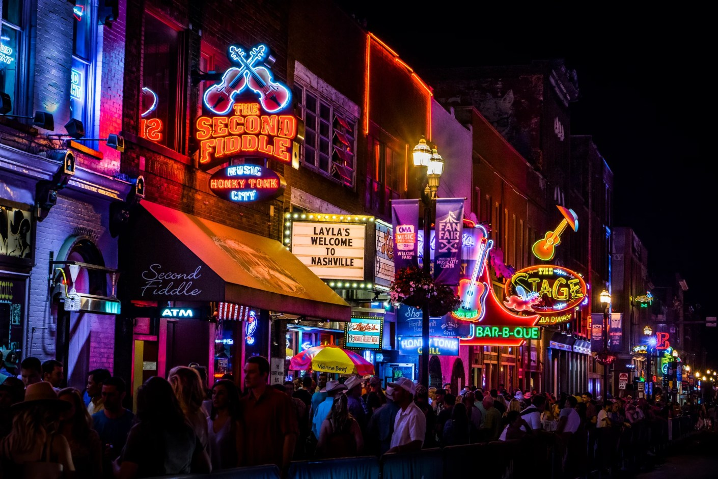 Hit the honkytonks in Nashville with this new route by Allegiant Air. (Photo by Nina Dietzel / Getty Images)