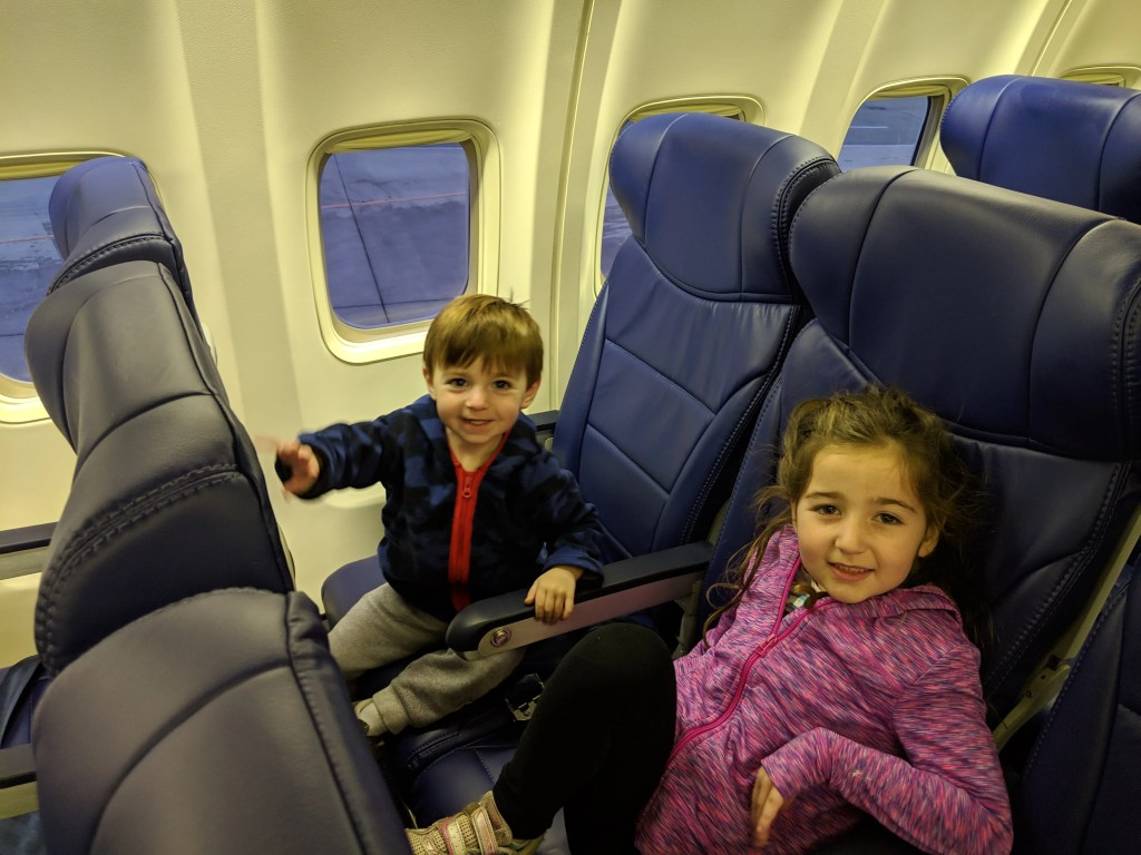 Have your child fly with you for free!
