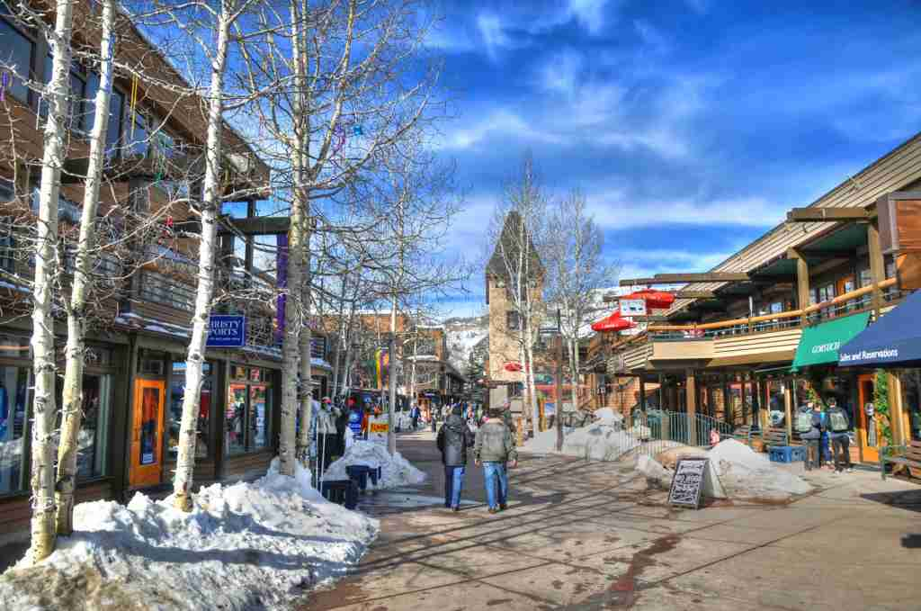 The town of Aspen, Colorado. (Photo via Shutterstock)