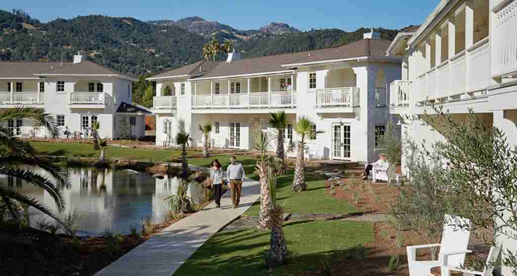 The Indian Springs Calistoga in Napa Valley. (Photo courtesy of Indian Springs Calistoga)