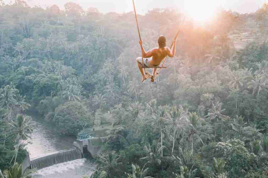 You may leap into unfamiliar territory while traveling...literally. (Photo by Jared Rice via Unsplash)