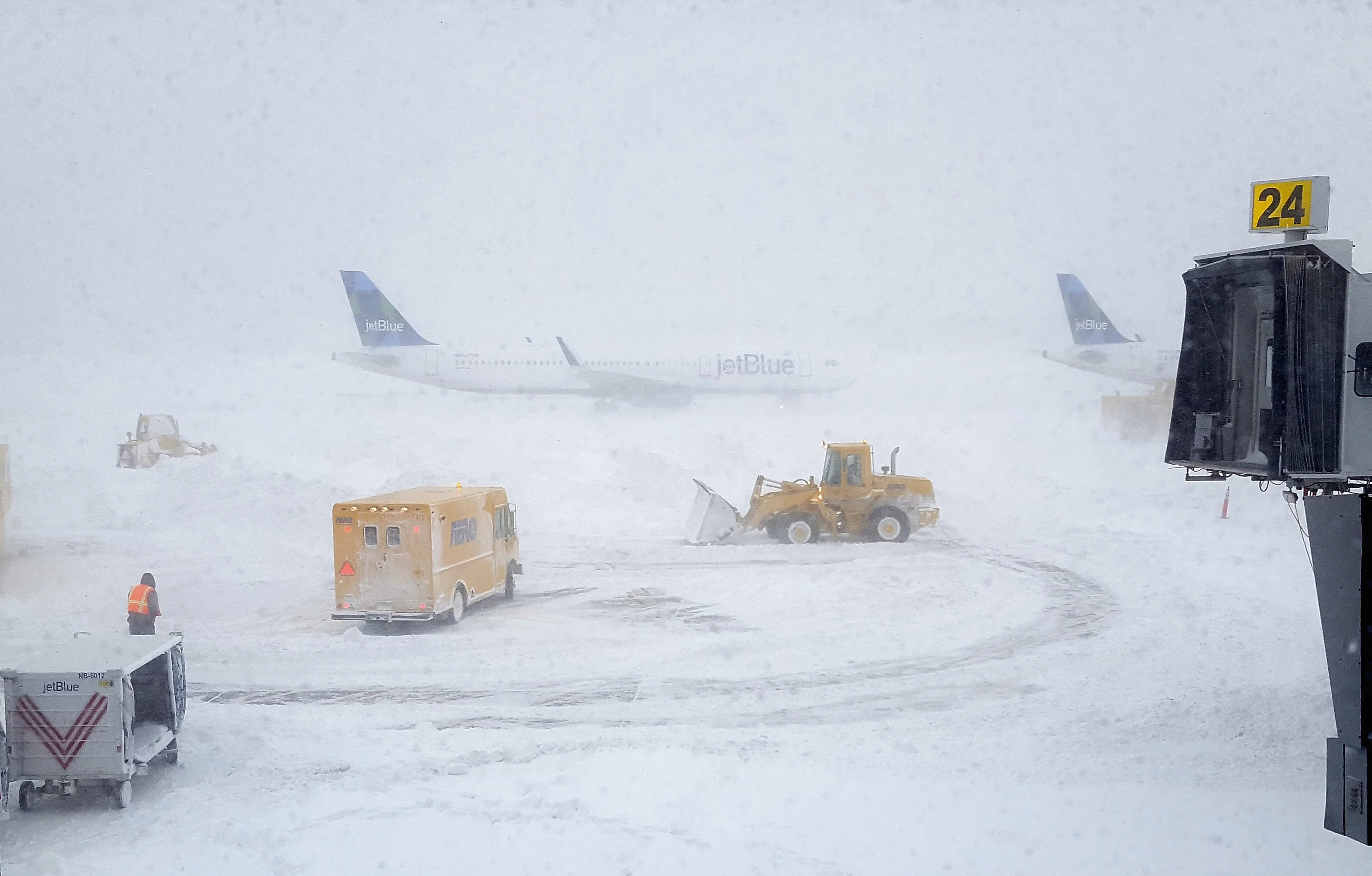 How Do Pilots Take Off in a Snowstorm?