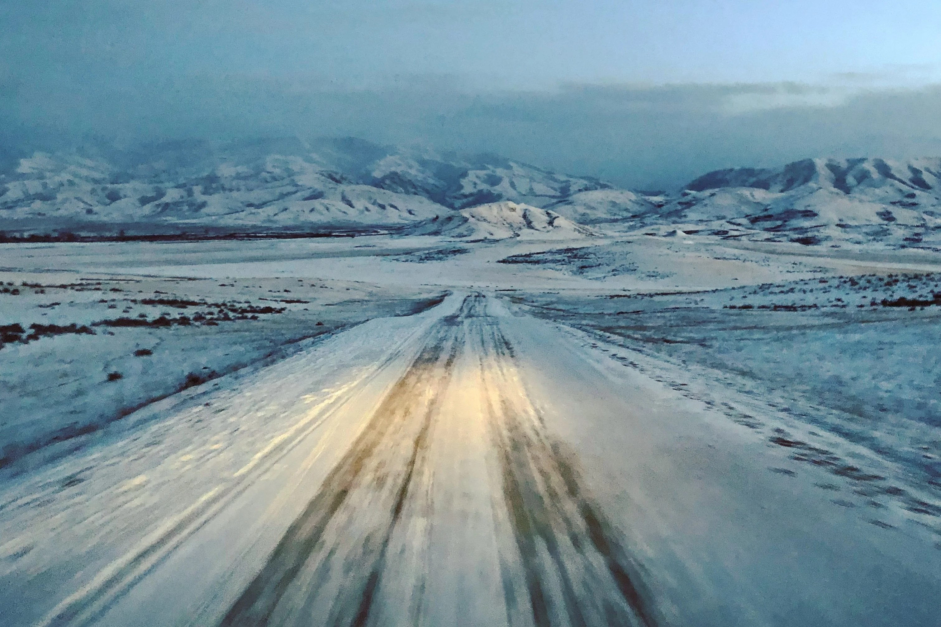 Kazakh winters are beautiful, but damn they are cold.