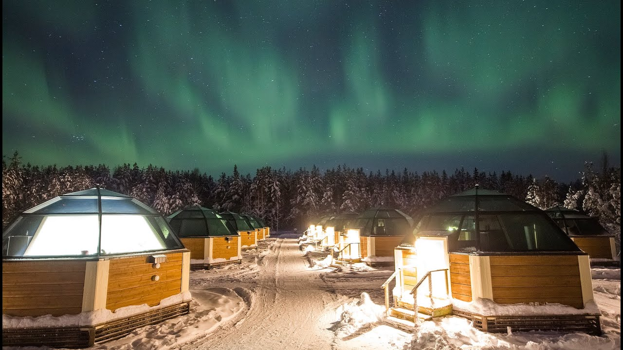(Photo courtesy Arctic Snowhotel/YouTube)