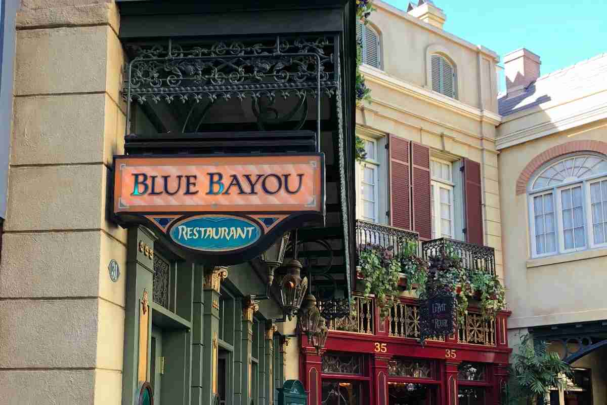 Best Disneyland Restaurants for Families - Blue Bayou