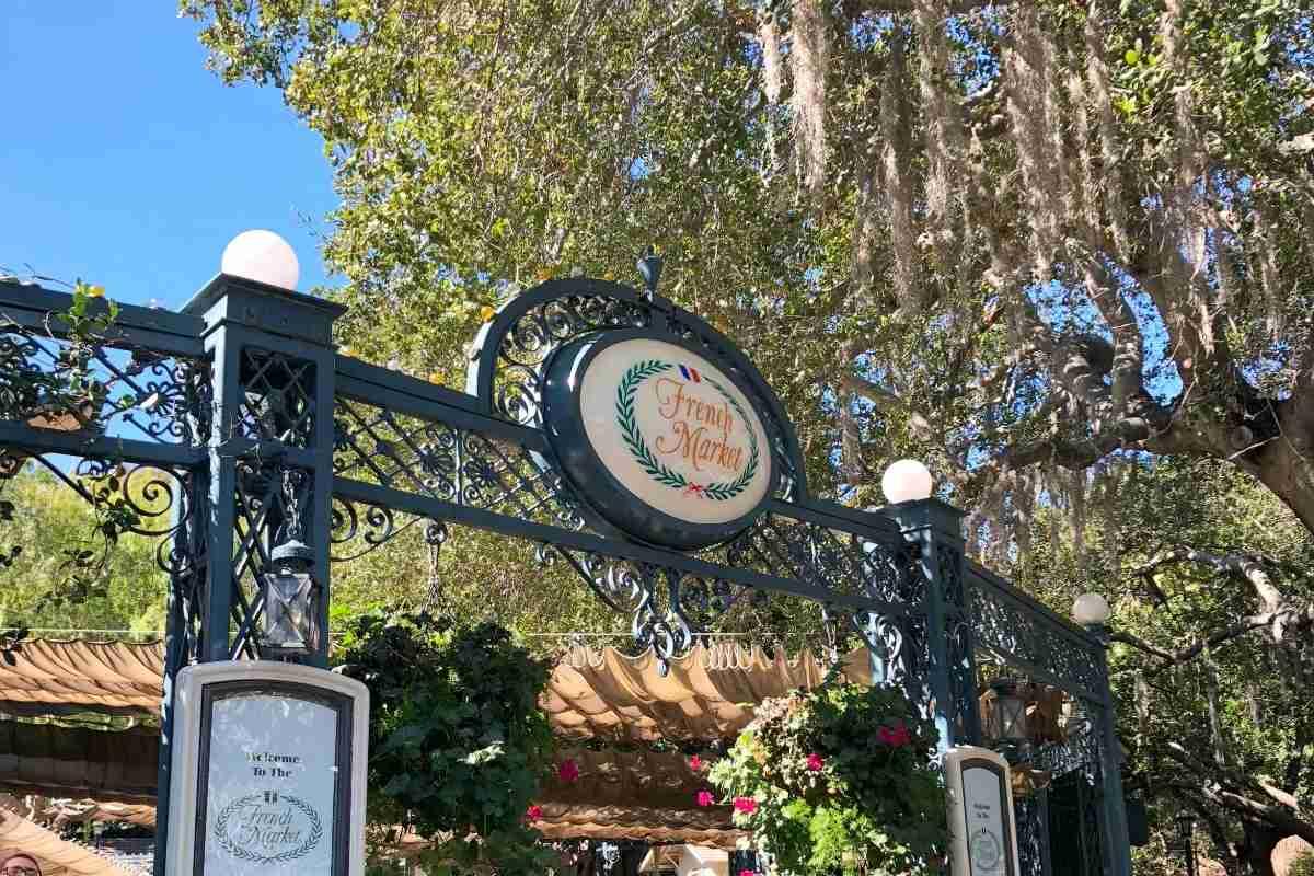 Best Disneyland Restaurants for Families - French Market
