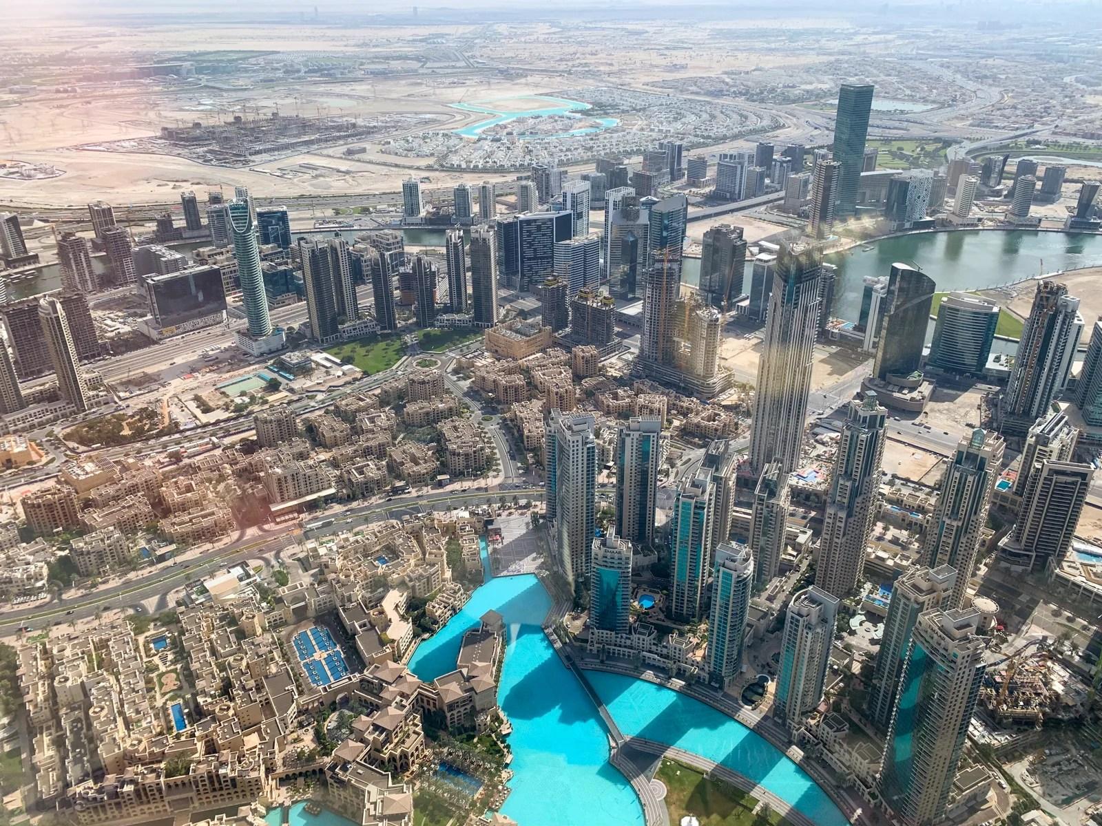 Dining at At mosphere Atop the Burj Khalifa in Dubai