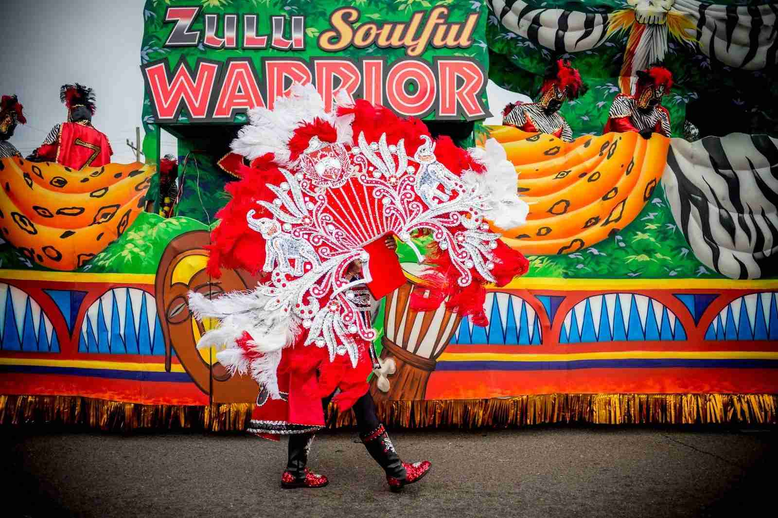 (The Zulu Parade performs on the streets of New Orleans Photo by Emily Kask/AFP/Getty Images)