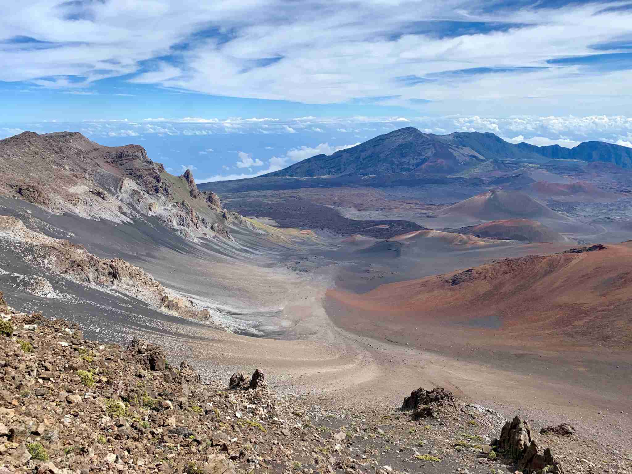 Haleakala National Park Maui - crater hawaii view
