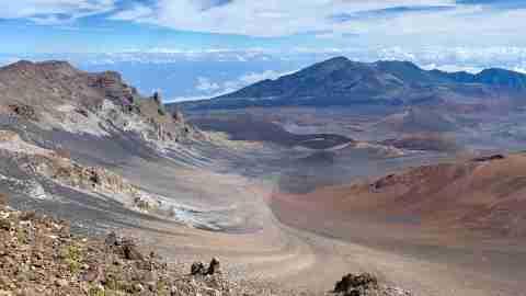 Haleakala National Park Maui - crater hawaii view