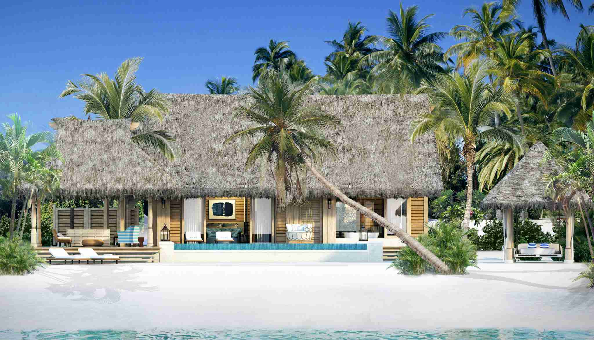 Beach Villa with Pool. Image by HIlton