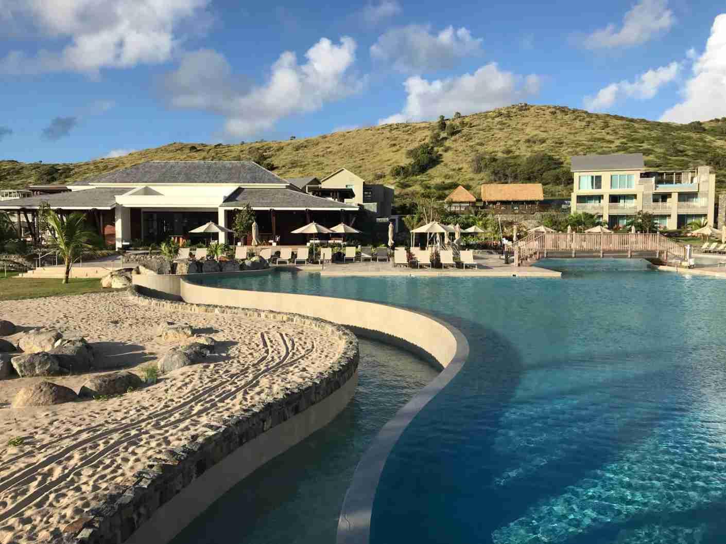 The Park Hyatt St. Kitts. (Photo via The Points Guy)