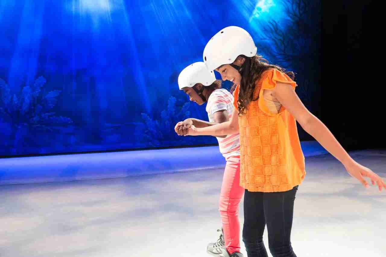 Ice skating on a Royal Caribbean International cruise ship. (Photo courtesy of Royal Caribbean)