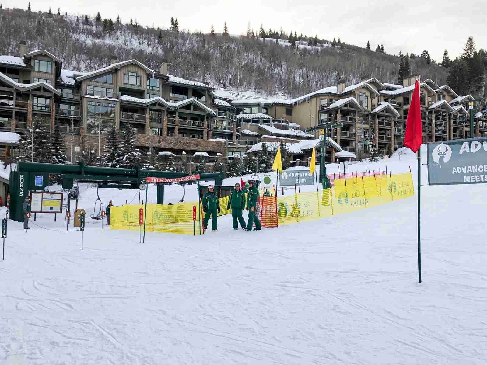 Get to the base of the Deer Valley ski resort in minutes.