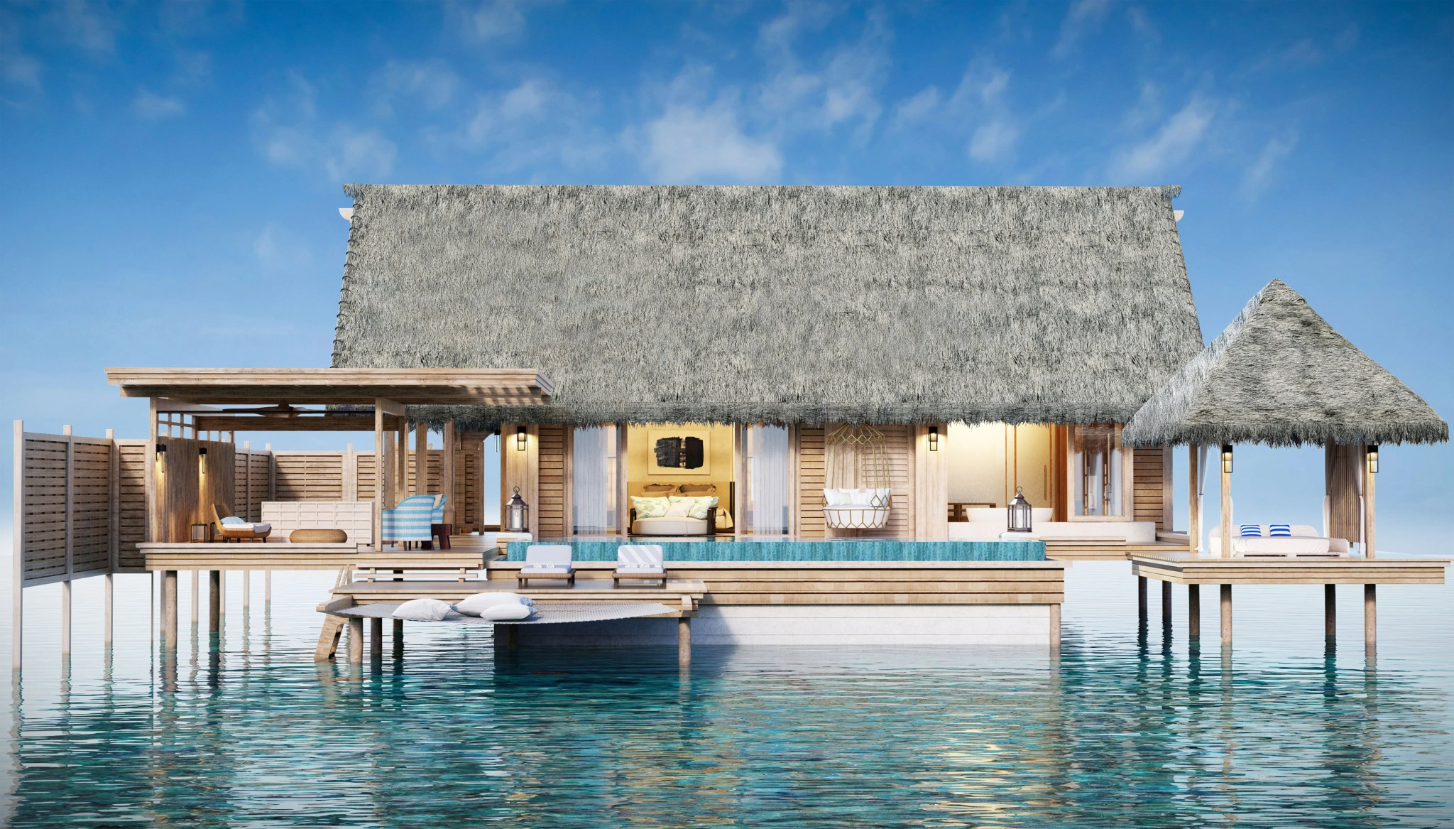 Overwater Villa. Image by Hilton