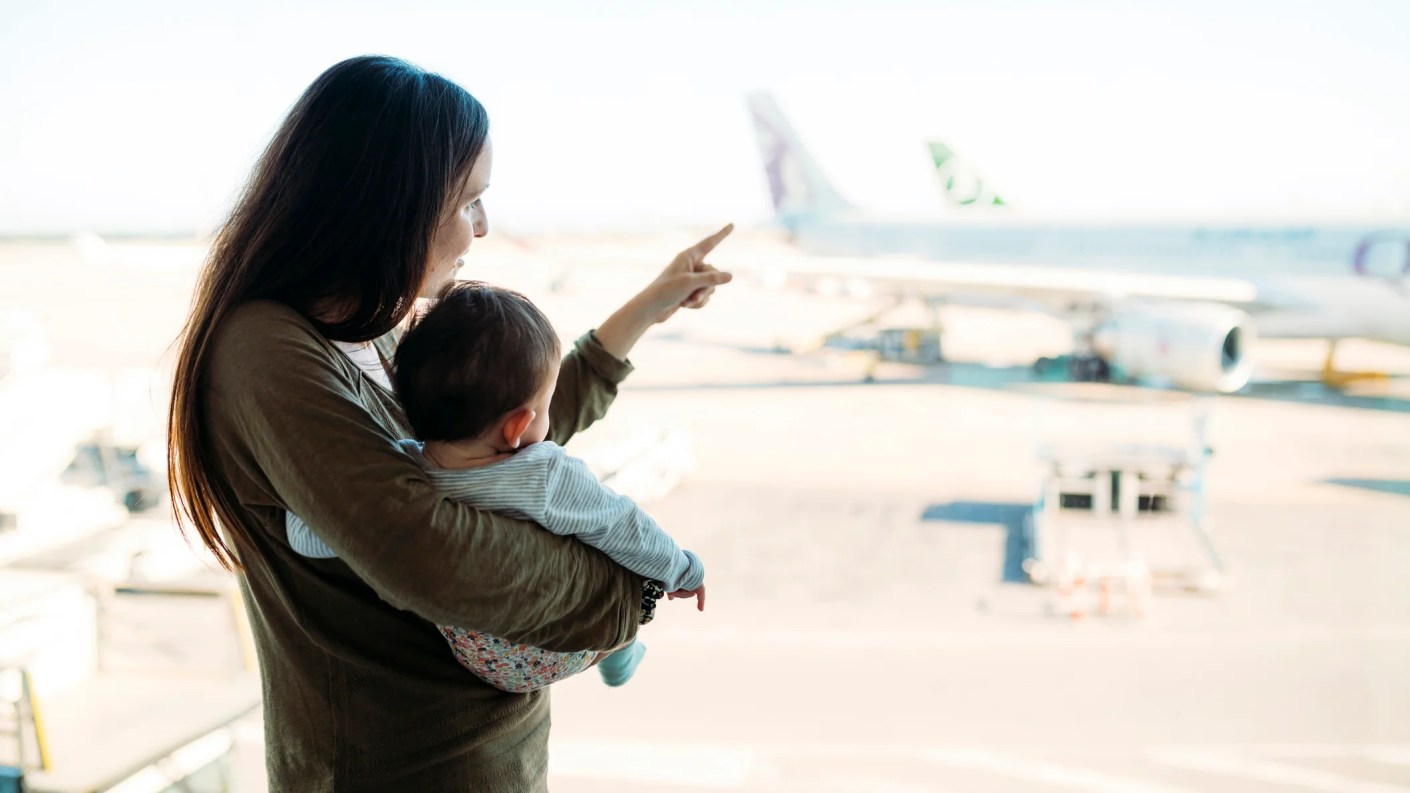 Planning Award Travel With A Lap Infant