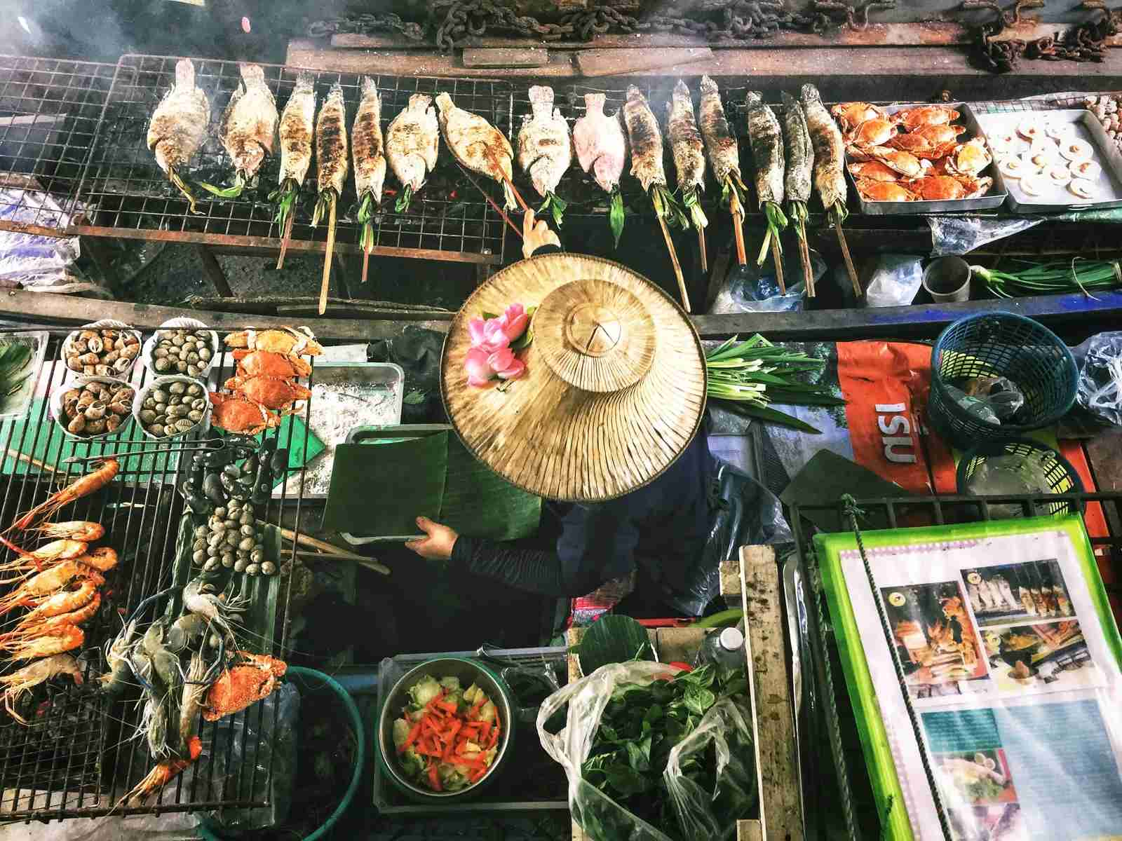 Bangkok is known for the food! (Photo by Lisheng Chang/Unsplash)