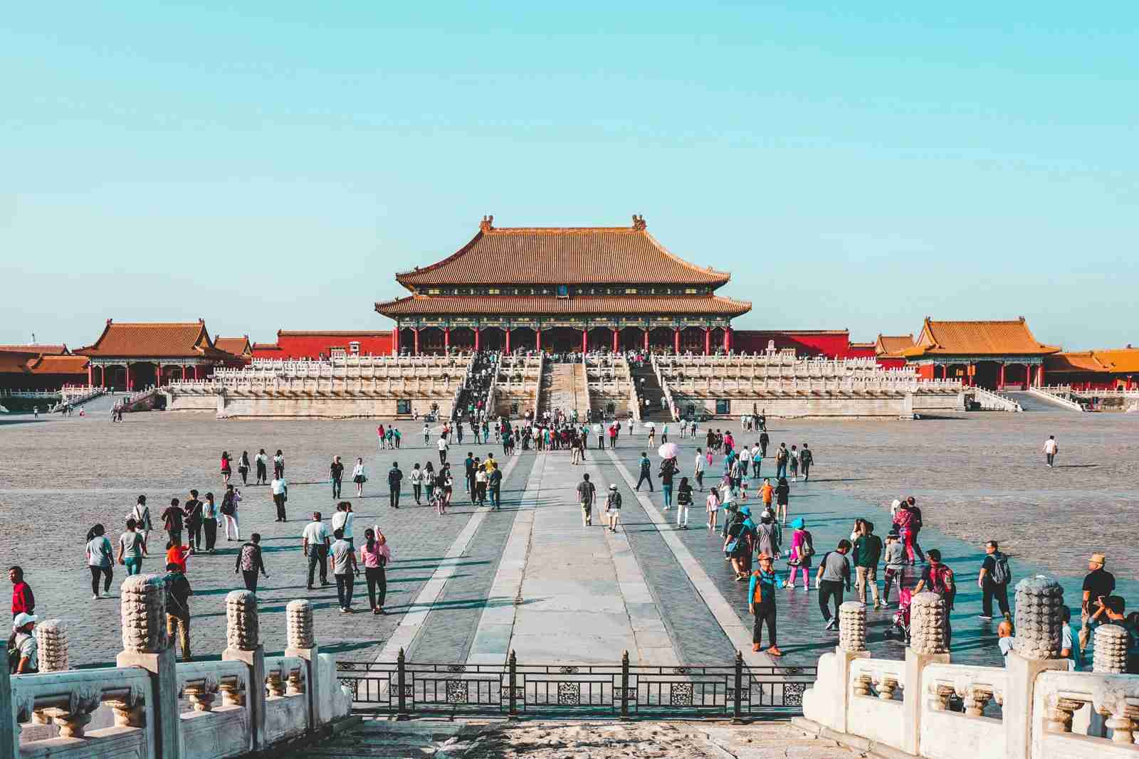 An open square in Beijing, China. (Photo by Ling Tang/Unsplash)