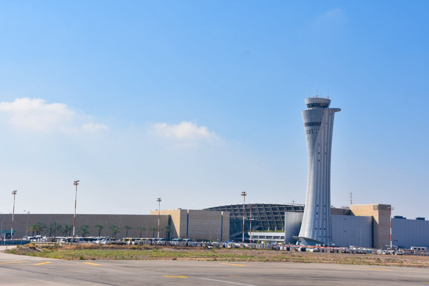 The Ben-Gurion International Airport is the largest international airport in Israel. (Photo via Getty Images)