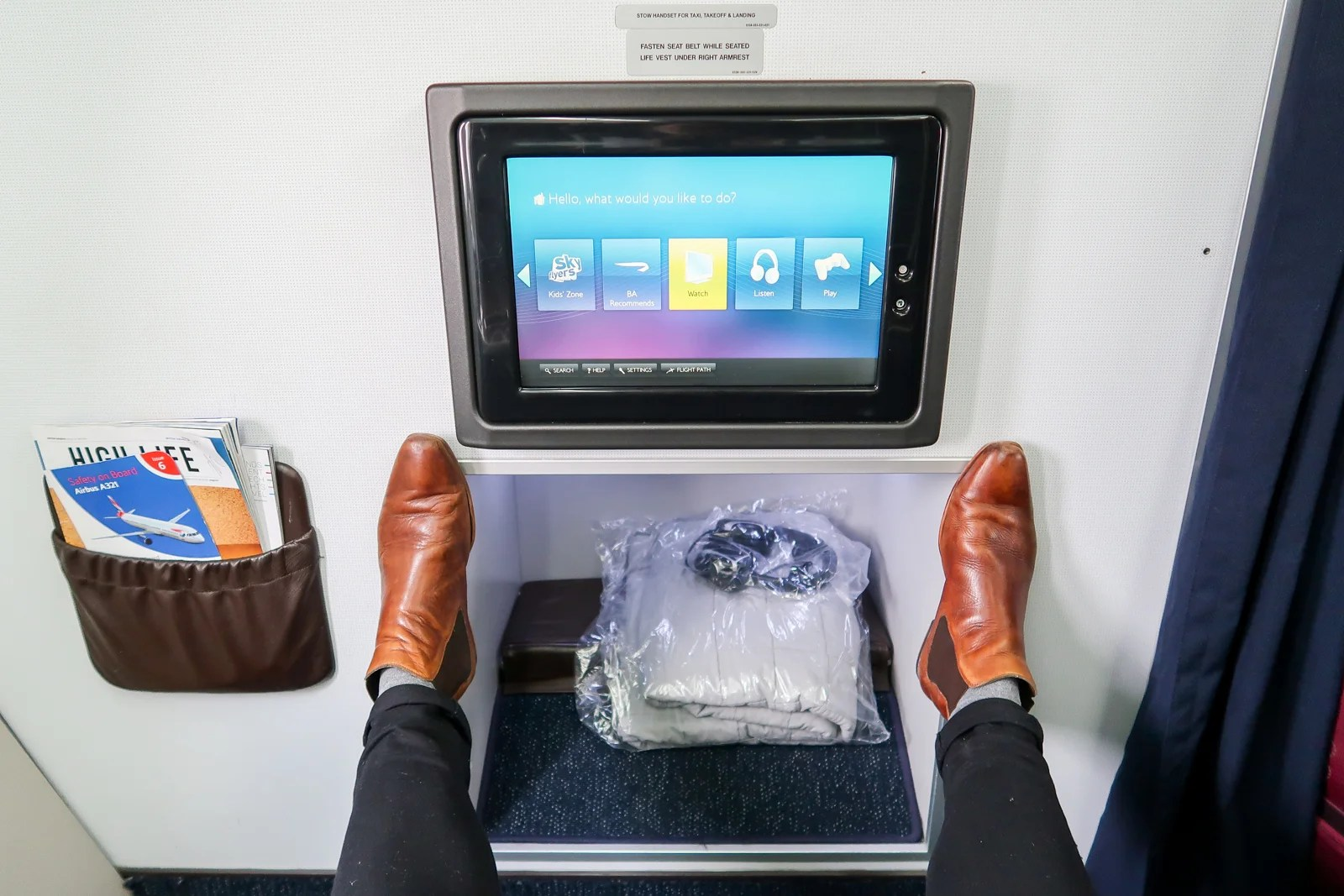Review: Flying the Throne Seat on BA's A321, Amman to London