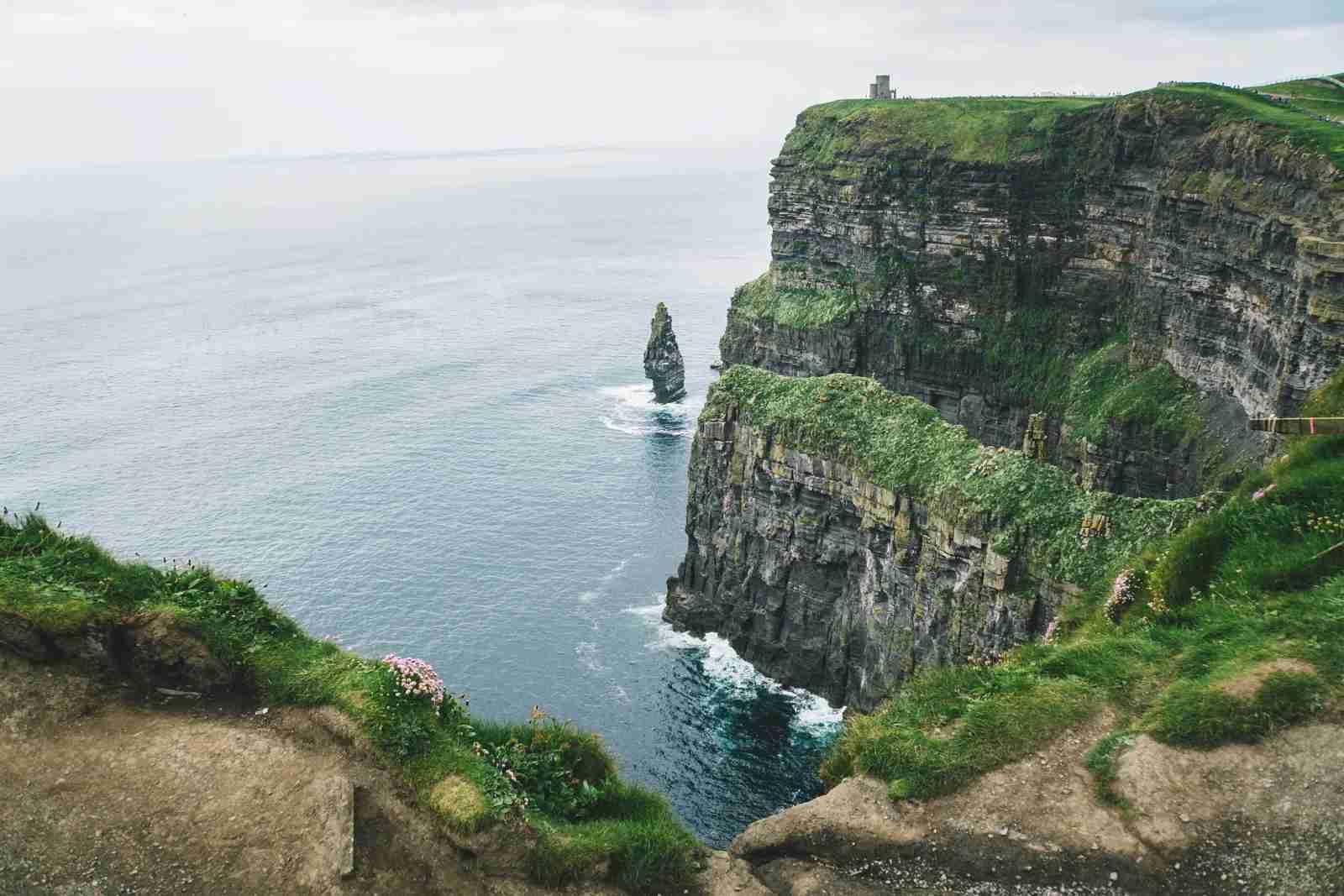 The Cliffs of Moher, Ireland. (Photo by Kelly Kiernan/Unsplash)