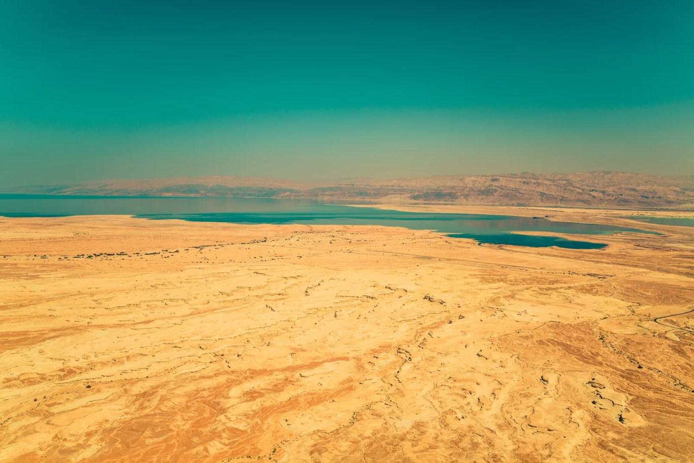 The Dead Sea. (Photo by Sammy Leigh Scholl/Unsplash)