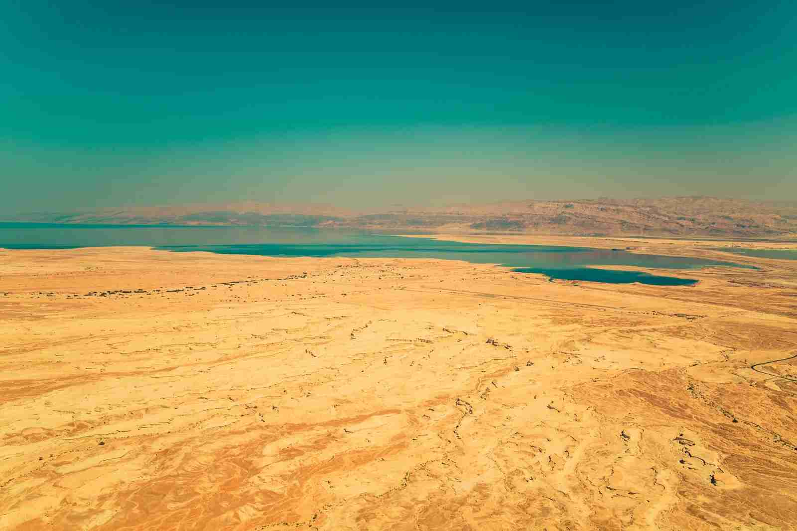 The Dead Sea. (Photo by Sammy Leigh Scholl/Unsplash)
