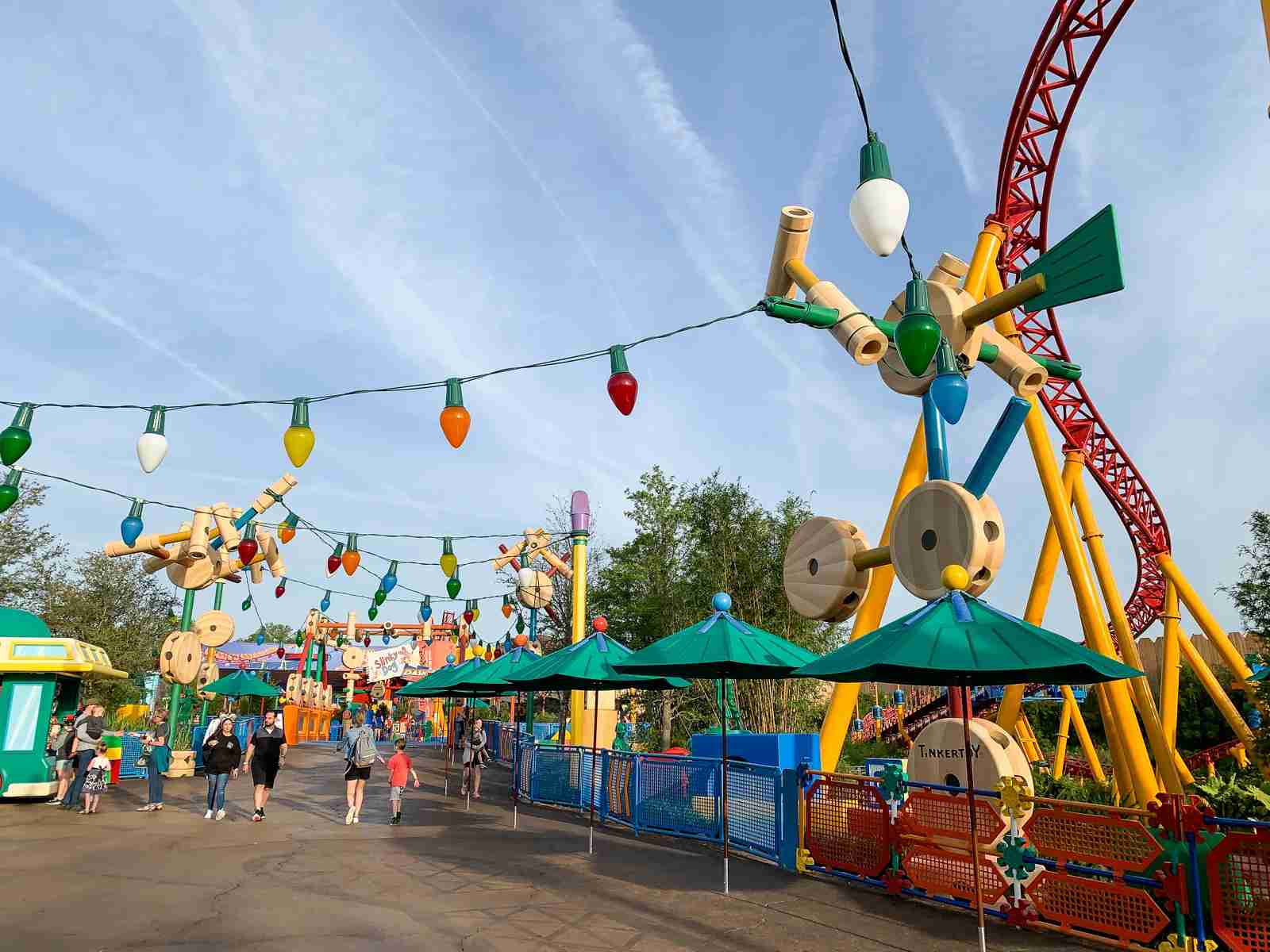 Toy Story Land during Early Morning Magic (Summer Hull / The Points Guy)
