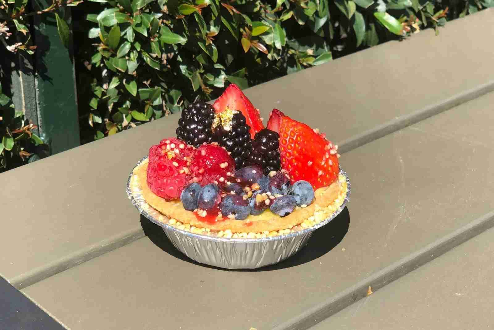 Disneyland Food Wine Berry Pie